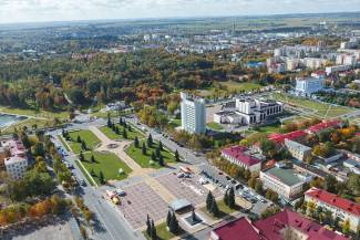 In Molodechno region, the action «Belaya Rus» - decorates Belarus!» continues