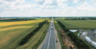 Reconstruction of the P23 Minsk-Mikashevichi highway is planned to be completed in November 2021